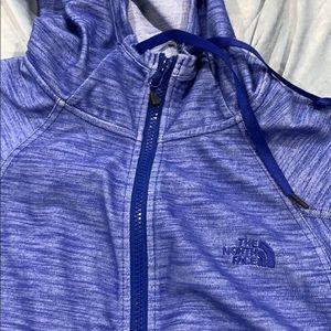 North Face zip hoodie